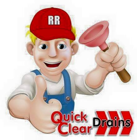 Quick Clear Drains logo